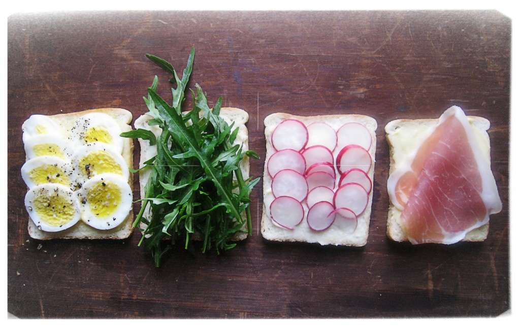 Sliced Baguette With Radishes And Anchovy Butter Recipes — Dishmaps