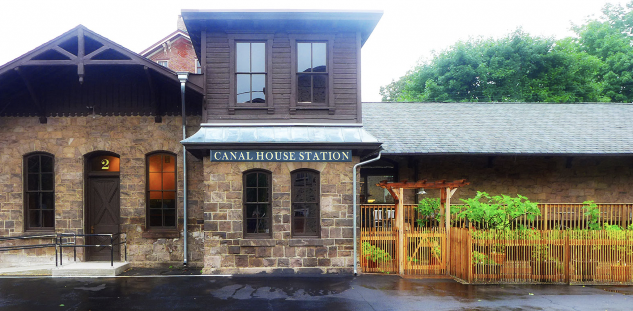 Canal House Station